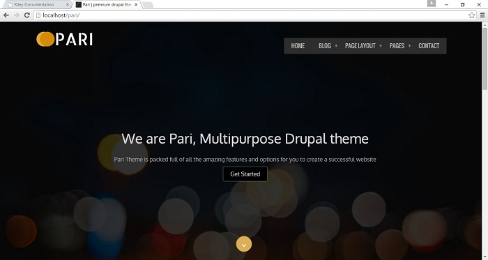 How to manage homepage slider | Drupar com
