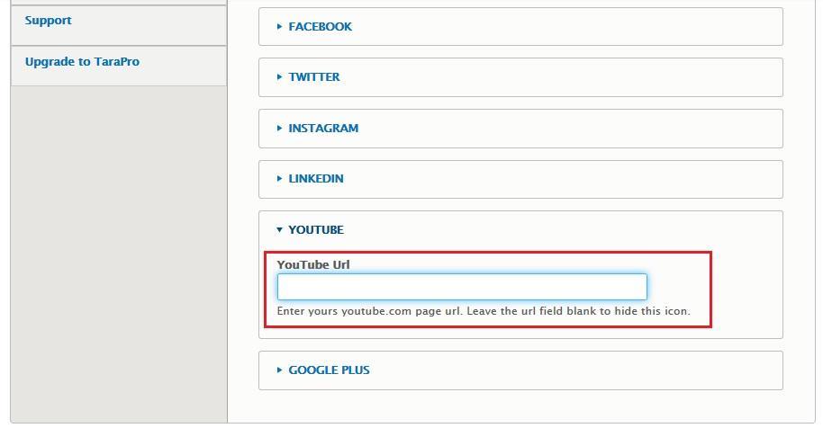 How to manage social icons   Drupar com